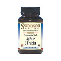 L-цистеин, 500 мг 30 вегетарианских капсул, L-Cysteine, Swanson