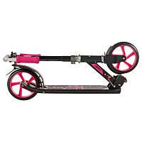 Самокат складной для детей и для взрослых OXELO MID7 (розовый)