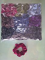 Резинки для волос бархатные 50 шт.