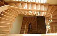 Деревянные лестницы под заказ