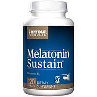 Мелатонин с витамином В6, Jarrow Formulas, Melatonin Sustain, 120 таблеток