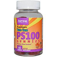 Фосфатидилсерин Витамины для мозга, Jarrow Formulas, Yum-Yum PS 100, 60 желеек