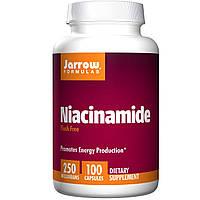 Ниацинамид витамин В-3, Jarrow Formulas, 250 мг, 100 капсул