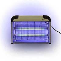 Электрический отлавливатель насекомых, ловушка для мух , комаров. Мощный 16 Вт