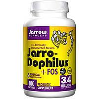 Пробиотики (дофилус + ФОС), Jarrow Formulas, 100 капсул,