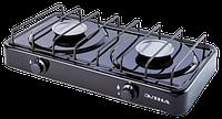 Газовая плита двухконфорочная ЭЛНА ПГ2-Н без крышки Купить Цена