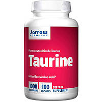 Таурин, Jarrow Formulas, 1000 мг, 100 капсул