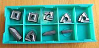 Пластины твердосплавные сменные 9 шт из карбида для набора токарных резцов по металлу из 9 шт 12х12 мм