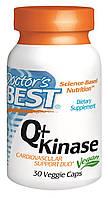Коэнзим Q10 c наттокиназа, Q+Kinase, Doctor's Best, 30 капcул
