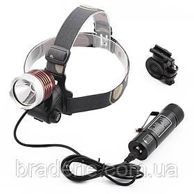 Ультрафиолетовый фонарь на лоб Police 12V 6810-UV 365 nm