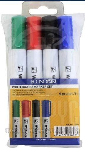 Комплект маркеров для досок Economix