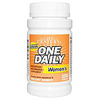 Комплекс витаминов для женского здоровья Одна таблетка в День, One Daily, Women's, 21st Century Health Care, 1