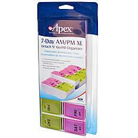 Таблетница контейнер для таблеток на 7 дней, DNG Apex