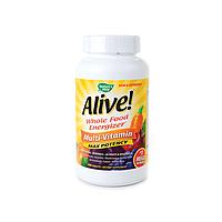 Витамины комплексные с железом, Alive Nature's Way, 180 таблеток