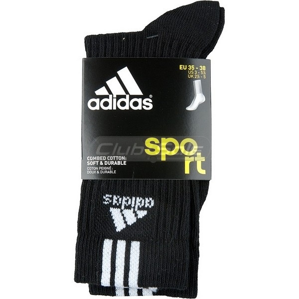 Носки Adidas, Артикул Z25582, черные,размер 39-42