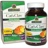 Cat's Claw, Кошачий коготь, Витамины для репродуктивной системы, 1350 мг, 90 вегетарианских капсул