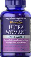 Мультивитаминный комплекс для женщин Ultra Woman, Puritan's Pride