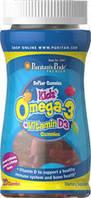 Омега-3 ДГК для детей с витамином Д3, Puritan's Pride,