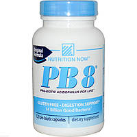Пробиотики Ацидофилус, Nutrition Now, 120 капсул