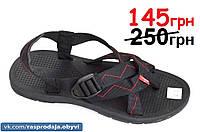 Босоножки шлепанци вьетнамки Vento черный мужские подростковые шлепки сандали