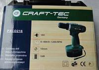 Шуруповерт аккумуляторный Crafttec PXCD 216 18-2-1H