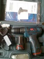 Шуруповерт аккумуляторный Craft CAS12ABL