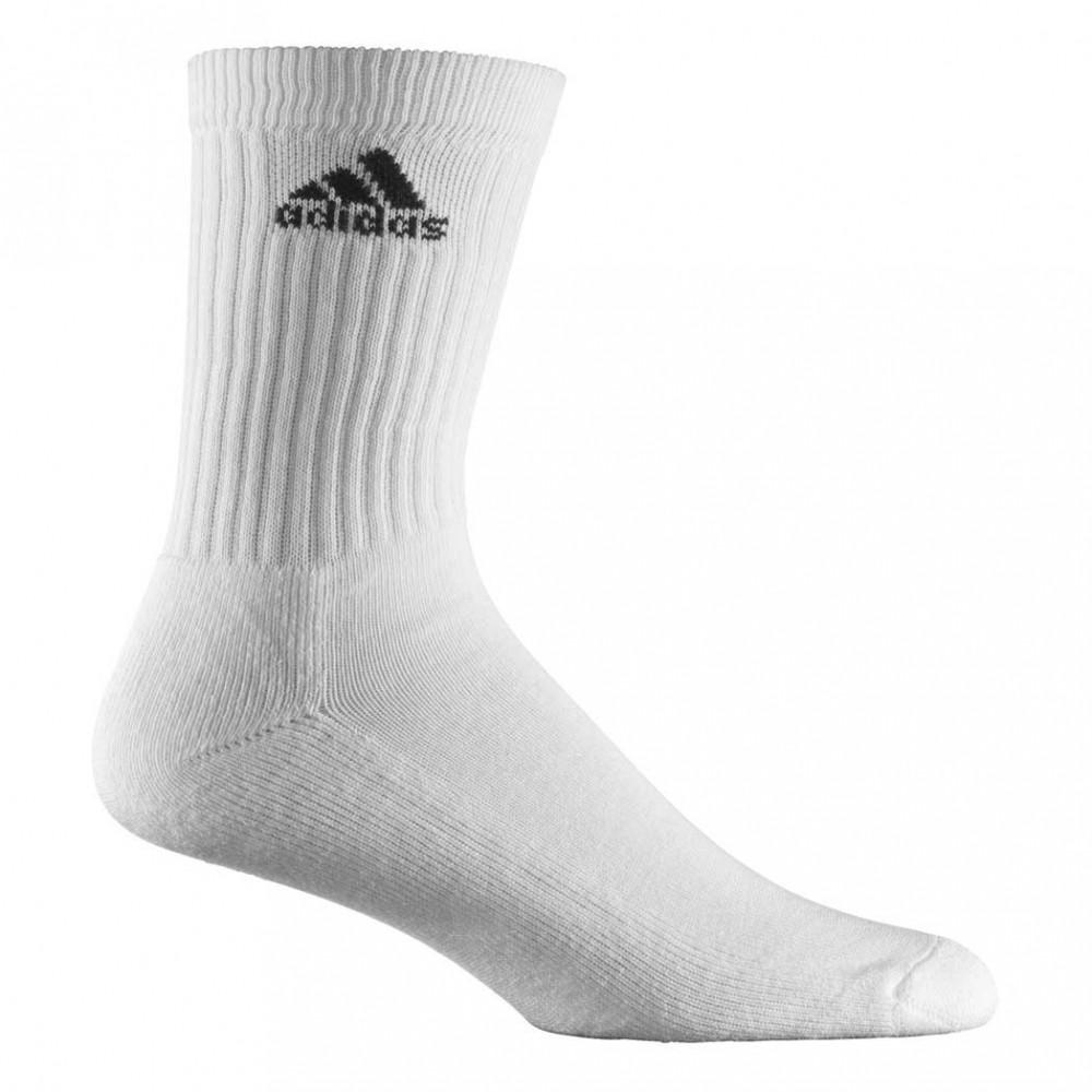 Носки Adidas  Z11393 , белые, размер 39-42