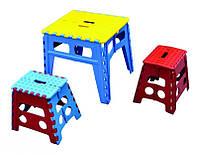 Стол пластиковый складной MasterTool 450x500x465 мм