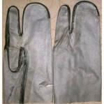 Рукавицы рабочие трёхпалые КЩС, фото 1