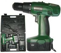 Шуруповерт аккумуляторный Crafttec PXCD 215 18-2-1H Зеленый
