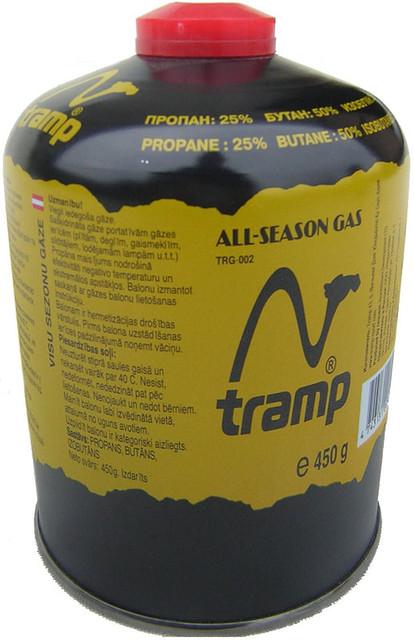 Баллон газовый резьбовой 450г Tramp TRG-002