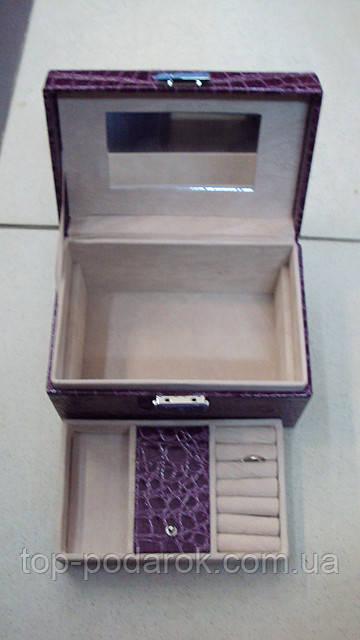 Шкатулка для украшений размер 18*12*11
