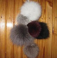 Бубоны (помпоны) из натурального меха высокого качества, фото 1