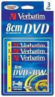 Диск VERBATIM DVD+RW 1,4Gb 4X Blister 3 pcs Hardc (43594)