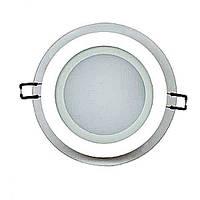 """Светодиодный светильник встраиваемый LED """"CLARA-12"""" Horoz 12W 744Lm (4200K) , фото 1"""
