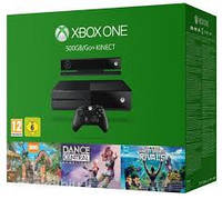 Xbox One 500GB + Kinect + 3 игры