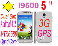 SAMSUNG S4 (copy) Android 4.2 MTK6589 WiFi 5.0 Inch gps quad core, фото 1