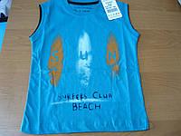 Летние футболки майки для мальчиков 5-8 лет Турция ; хлопок - супрем