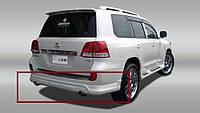 Накладка на задний бампер Тойота Ленд Крузер 200