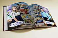 Изготовление печать доставка школьной выпускной фотокниги