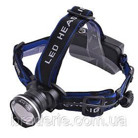 Ультрафиолетовый фонарь на лоб Police 12V XQ24-UV 365 nm