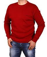 Свитер мужской Hermes-107 красный