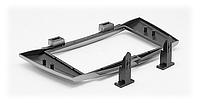 2-DIN Переходная рамка JAC J6, Heyue-RS 2009-2013, CARAV 11-300