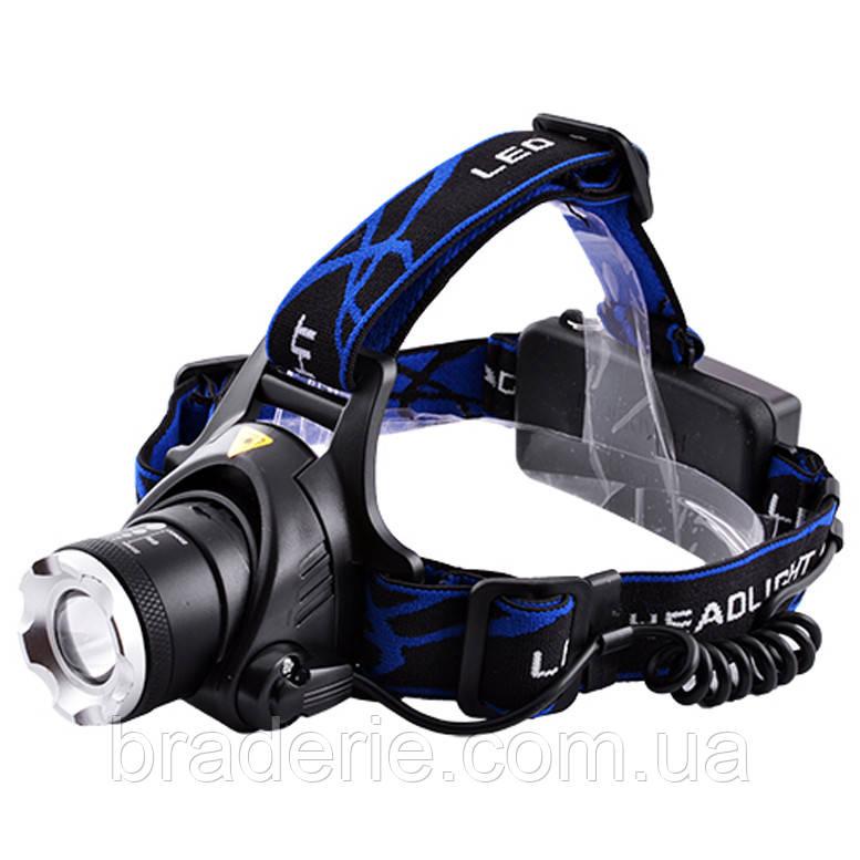 Ультрафиолетовый фонарь на лоб Police 12V 204C-UV 365 nm