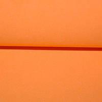 Фоамиран Оранжевый 50х50 см, 1 мм Китай