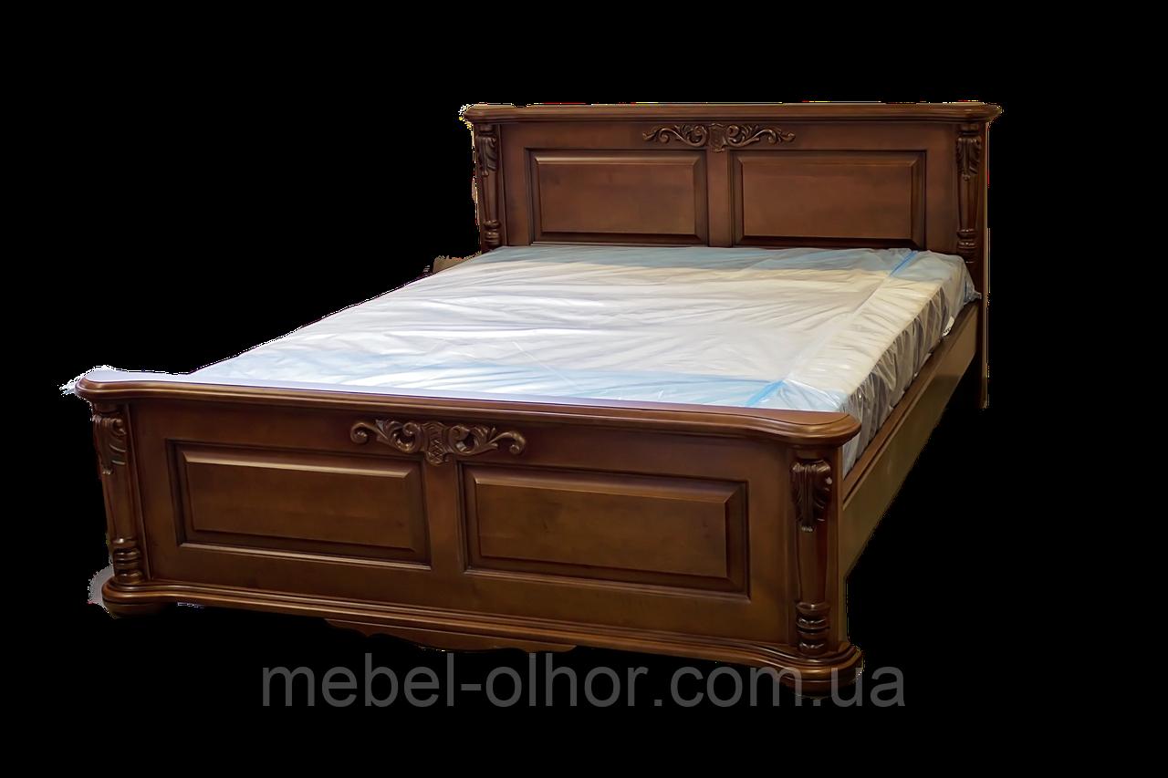 Кровать двуспальная Корадо (орех)