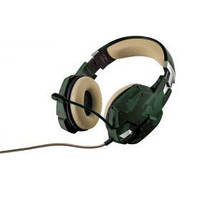 Гарнитура IT TRUST GXT 322C Gaming Headset - green camouflage