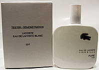 Туалетная вода Lacoste Eau De L.12.12 Blanc 100ml (tester)(лакоста тестер)
