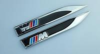 Эмблемы на крылья BMW M-power