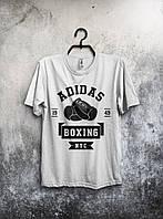 """Футболка мужская трикотажная спортивная """"adidas"""" Адидас"""